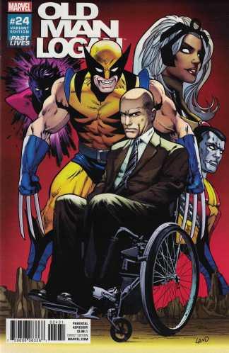 Old Man Logan #24 1:10 Greg Land Variant Past Lives Marvel 2015