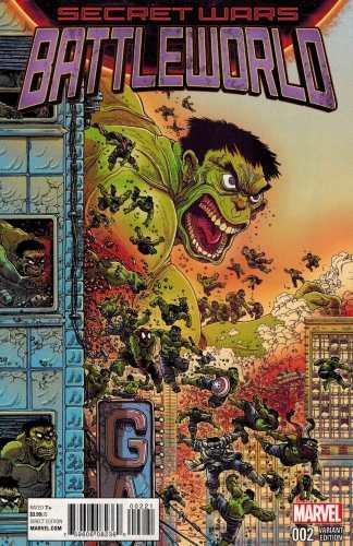 Secret Wars Battleworld #2 1:25 Stokoe Variant Marvel 2015
