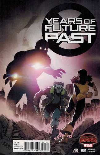 Years of Future Past #1 1:25 Mike Norton Variant Marvel 2015 SWA