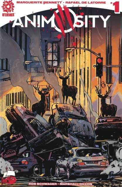 Animosity #1 Garry Brown Variant First Print Aftershock 2016