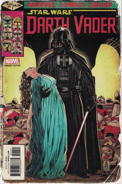 Star Wars Darth Vader #1 1:50 Mark Brooks Homage Variant Marvel 2017