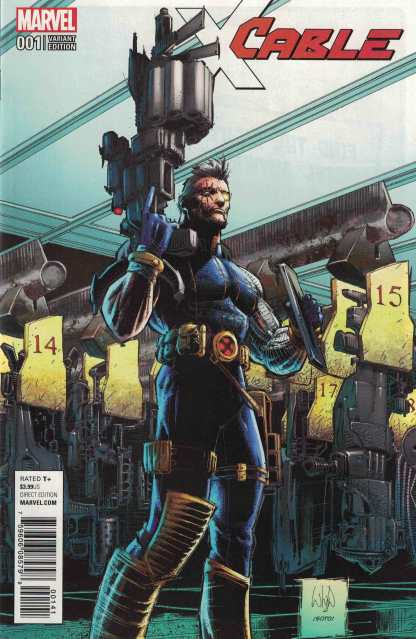 Cable #1 1:15 Whilce Portacio Variant Marvel 2017