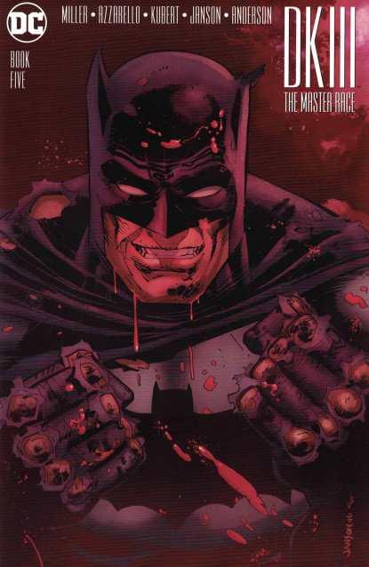 Dark Knight III Master Race #5 1:25 Klaus Janson Variant DK3 Batman DC