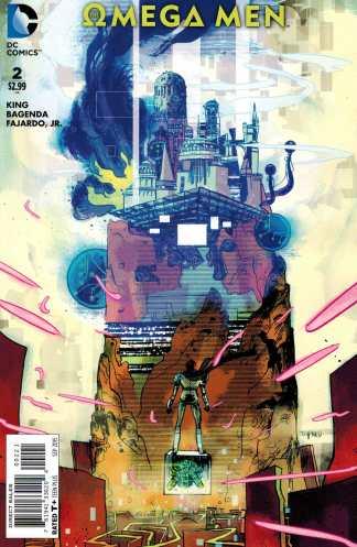 Omega Men #2 1:25 Cypress Variant DC Comics 2015