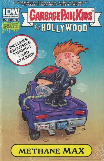Garbage Pail Kids Go Hollywood Deluxe Edition IDW 2015 Methane Max