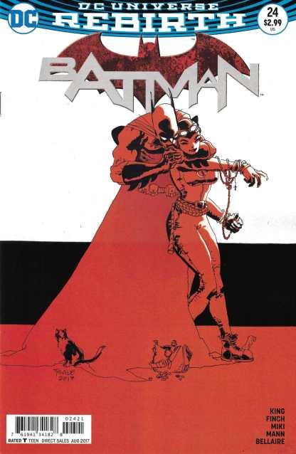 Batman #24 Tim Sale Variant DC 2016 Rebirth