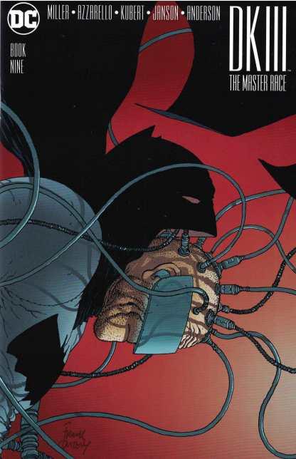 Dark Knight III Master Race #9 1:100 Frank Quitely Variant DC Batman Returns