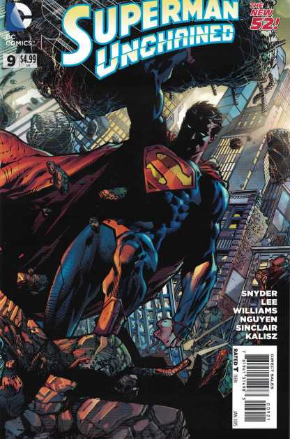Superman Unchained #9 1:25 David Finch Variant DC 2013 Scotty Snyder