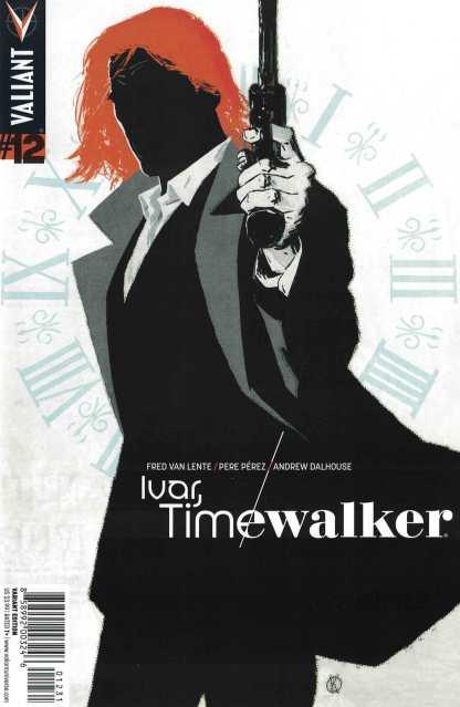 Ivar Timewalker #12 1:20 Fred Van Lente Variant Valiant 2014 RARE HTF