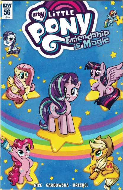 My Little Pony Friendship is Magic #56 1:10 Mary Bellamy Variant IDW 2013