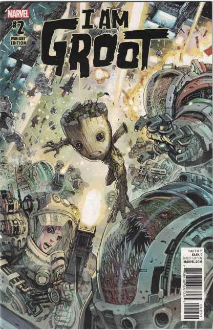 I Am Groot #2 1:25 Niko Henrichon Variant Marvel 2017