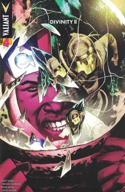 Divinity II #4 1:40 Dave Gorham Variant Cover E Valiant 2016