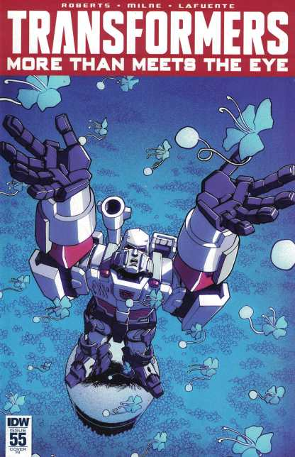 Transformers More Than Meets the Eye #55 1:10 Retailer Incentive Variant RI IDW