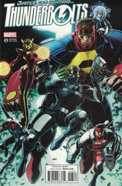 Thunderbolts #3 1:25 Art Adams Variant Marvel ANAD 2016