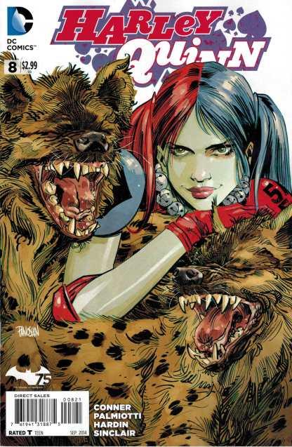Harley Quinn #8 1:25 Dan Panosian Variant DC New 52