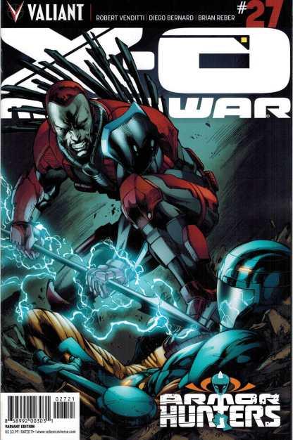 X-O Manowar #27 1:20 Diego Bernard Variant Valiant