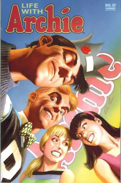 Life With Archie #37 Alex Ross Variant Death of Archie Final Issue