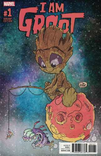 I Am Groot #1 1:25 Jay Fosgitt Variant Marvel 2017