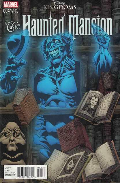 Haunted Mansion #4 1:10 Kelley Jones Variant Disney Kingdoms Marvel