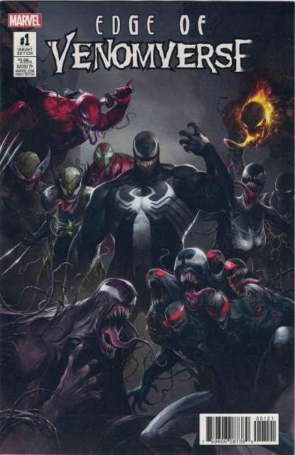 Edge of Venomverse #1 1:50 Francesco Mattina Teaser Variant Marvel 2017