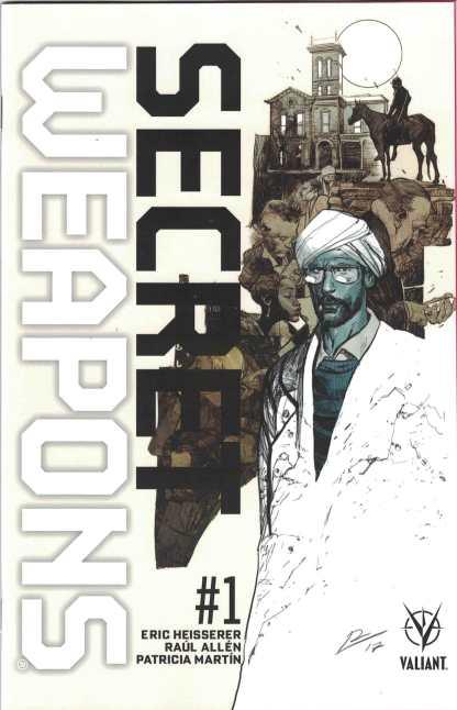 Secret Weapons #1 1:20 Roberto de la Torre Valiant Variant cover D 2017