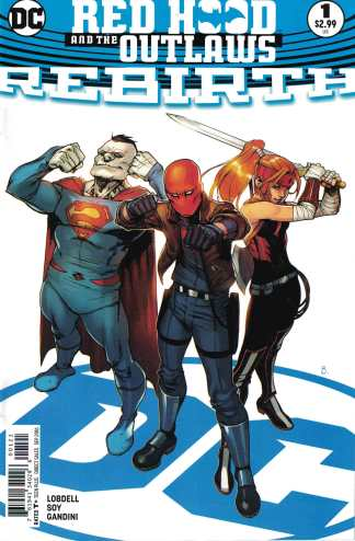 Red Hood and the Outlaws #1 Rebirth Bengal Variant DC Comics 2016