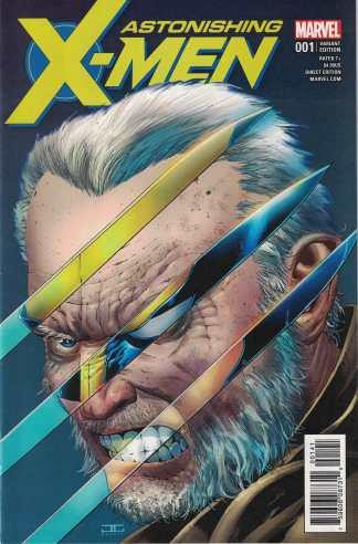 Astonishing X-Men #1 1:50 John Cassaday Variant Marvel 2017