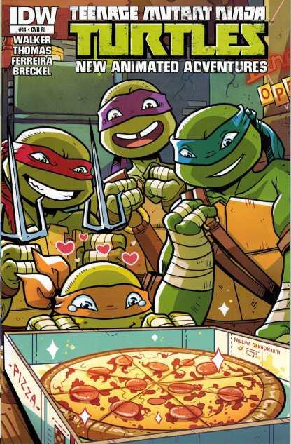 Teenage Mutant Ninja Turtles New Animated Series #14 Retailer Incentive Variant RI