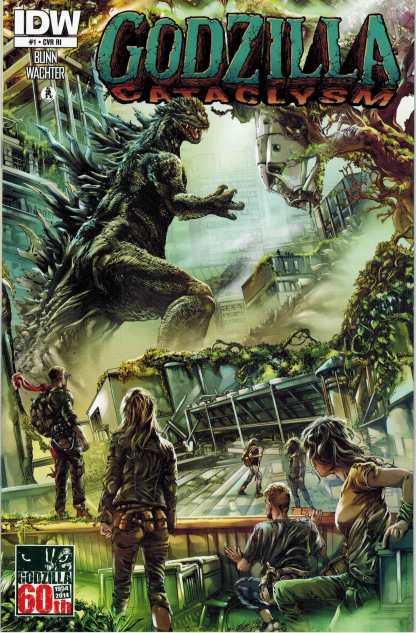 Godzilla Cataclysm #1 Retailer Incentive Variant RI