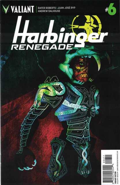Harbinger Renegade #6 1:20 Jeffrey Veregge Valiant Variant 2016