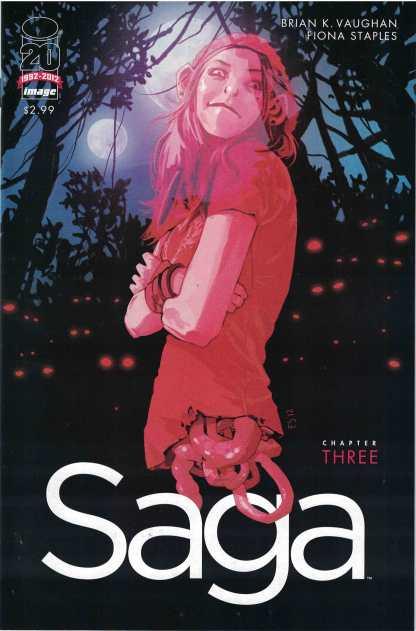 Saga #3 Fiona Staples 1st Printing Image 2012