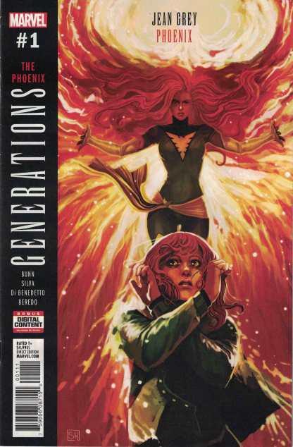 Generations Phoenix & Jean Grey #1 Stephanie Hans Main Cover Marvel 2017