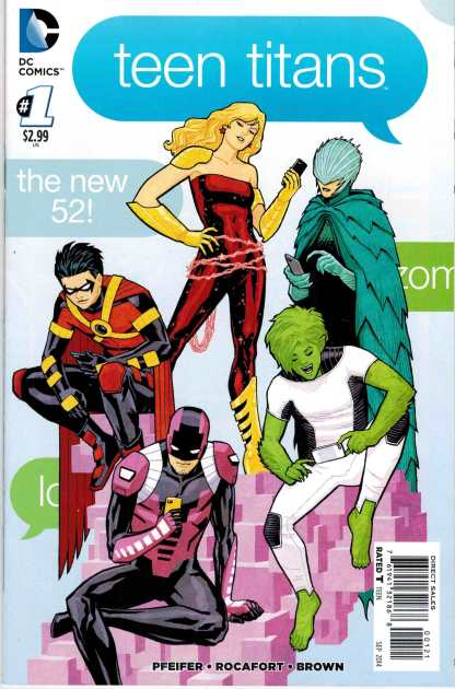Teen Titans (2014) #1 1:25 Cliff Chang Variant
