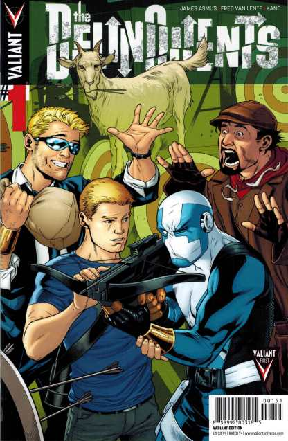 Delinquents #1 1:20 Emanuela Lupacchino Variant Archer and Armstrong Valiant