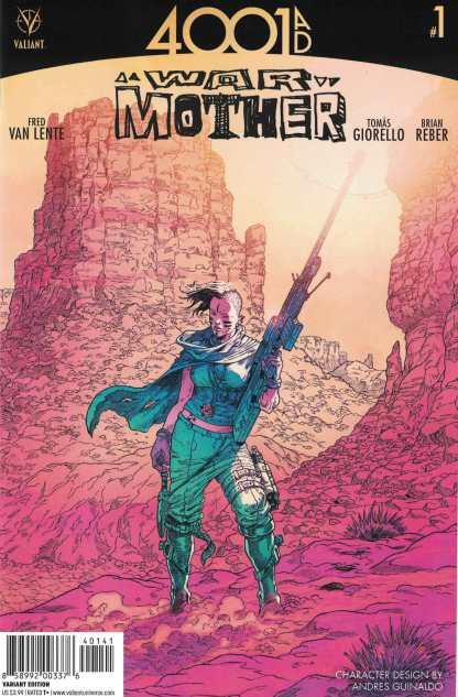 4001 AD War Mother #1 1:10 Guinaldo Character Variant Cover D Valiant 2016