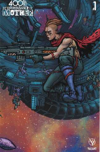 4001 AD War Mother #1 1:20 Ryan Lee Mega Variant Cover E Valiant 2016