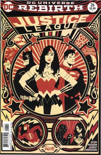 Justice League #26 Yanick Paquette Variant DC Rebirth 2016 JL Super Kids