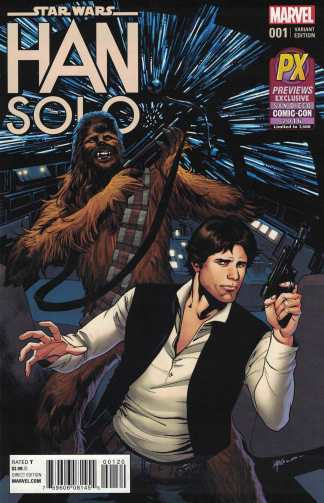 Star Wars Han Solo #1 Previews Exclusive SDCC 2016 Variant San Diego Comic Con