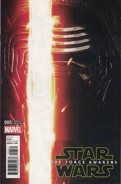 Star Wars The Force Awakens Adaptation #5 1:15 Movie Photo Variant Marvel 2016