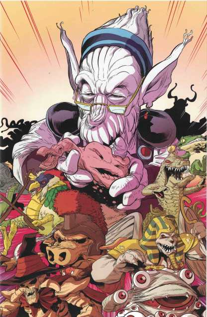Mighty Morphin Power Rangers #8 Bachan Unlocked Villain Variant Boom! 2016