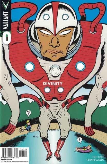 Divinity #0 1:10 Peter Bagge Variant Cover E Valiant 2017