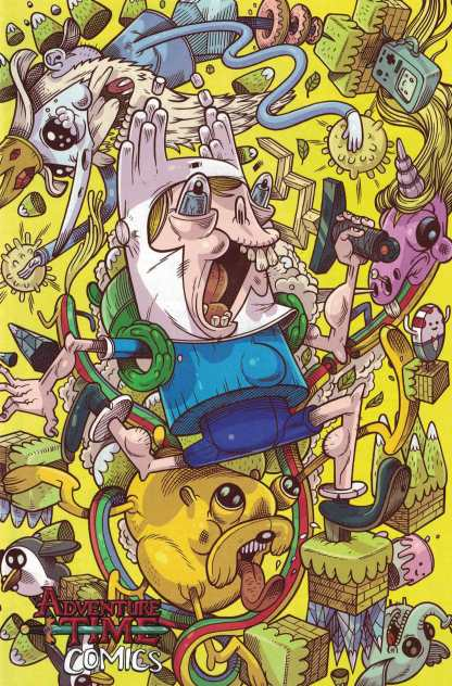 Adventure Time Comics #2 1:15 Calame Variant Kaboom 2016