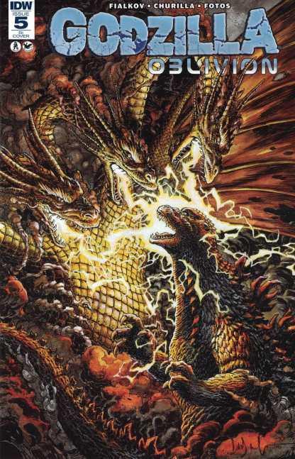 Godzilla Oblivion #5 1:10 Retailer Incentive Variant RI IDW 2016