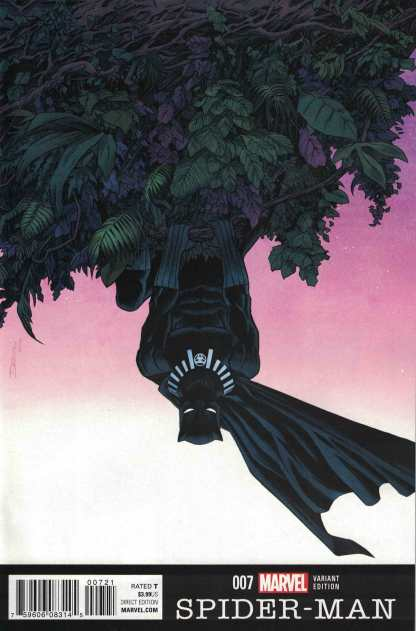 Spider-Man #7 Declan Shalvey Black Panther Anniversary Variant Marvel 2015