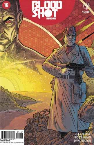 Bloodshot Reborn #16 1:10 Ryan Bodenheim Variant Cover E Valiant 2015