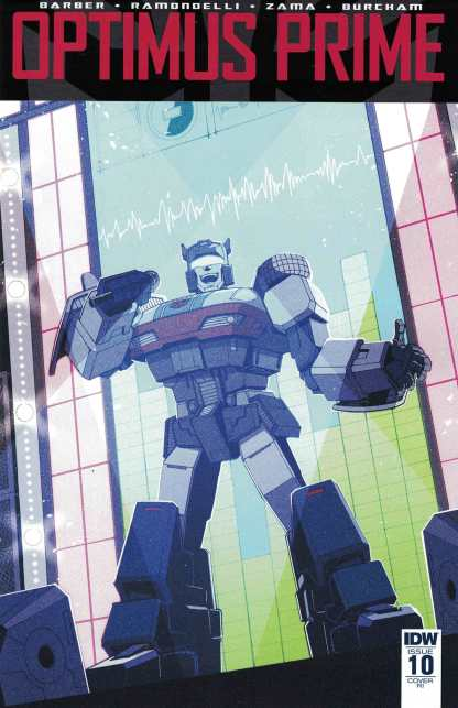 Optimus Prime #10 1:10 Andrew MacLean Variant IDW 2016