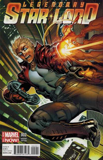 Legendary Star Lord #2 1:25 Paco Medina Variant Guardians of the Galaxy