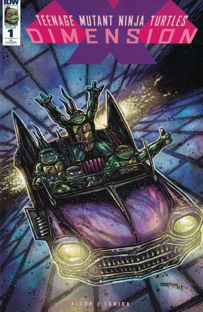 Teenage Mutant Ninja Turtles Dimension X #1 1:20 Eastman Variant RI TMNT RARE