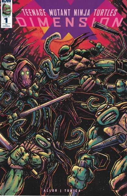 Teenage Mutant Ninja Turtles Dimension X #1 1:10 Eastman Variant RI TMNT RARE