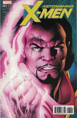 Astonishing X-Men #3 1:10 Alan Davis Variant Marvel 2017 Bishop